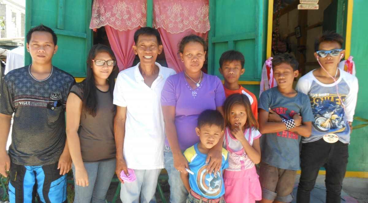 Sonando un techo Filipinas