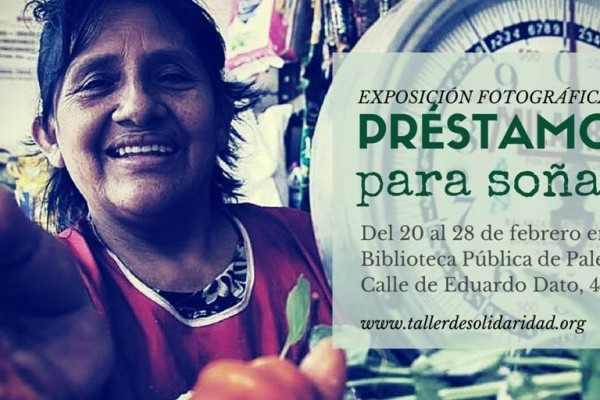 Exposición fotográfica Prestamos para Soñar en Palencia
