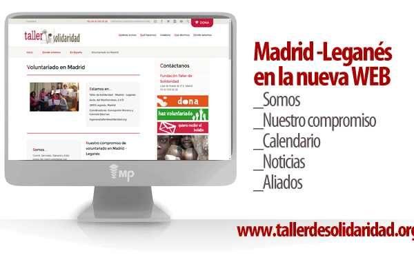 Nota de prensa Leganés en la web de TdS