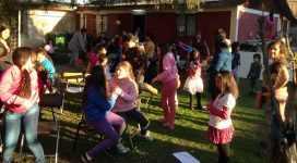 Celebrando el día del niño en Chile 2