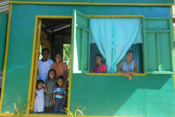 Reconstruccion Filipinas Tifon haiyan
